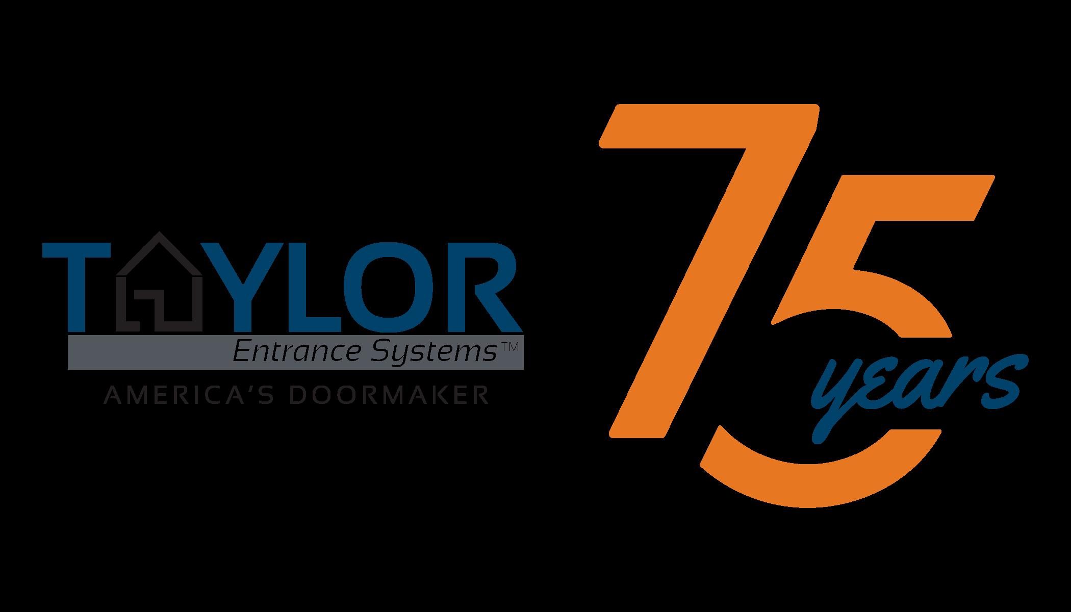 taylorentrancesystems_75th-anniversary-logo_rgb_horizontal